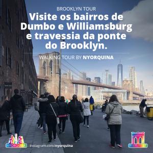 Brooklyn Tour em Português