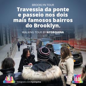 Walking Tour NY em Português
